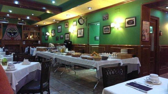 Hotel Jardín de Aranjuez: Salón de desayuno