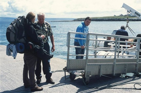 Doolin Ferry: Boarding the ferries from the Aran Islands.