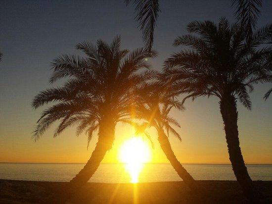 Marconfort Beach Club Hotel: November sunrise