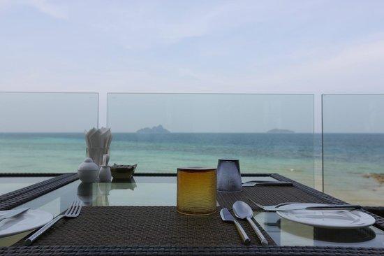 Villa 360 Resort & Spa: Вид из ресторана Villa 360