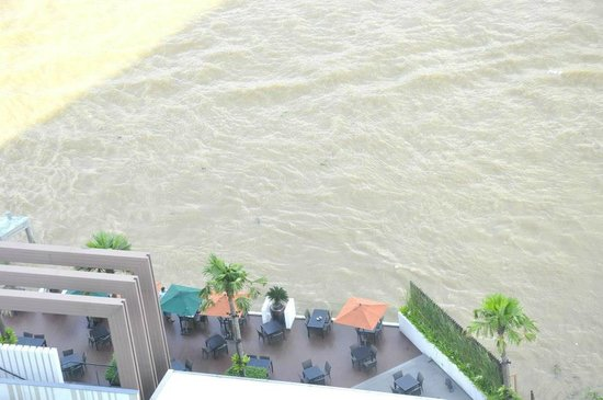 Royal Orchid Sheraton Hotel & Towers: River view from room