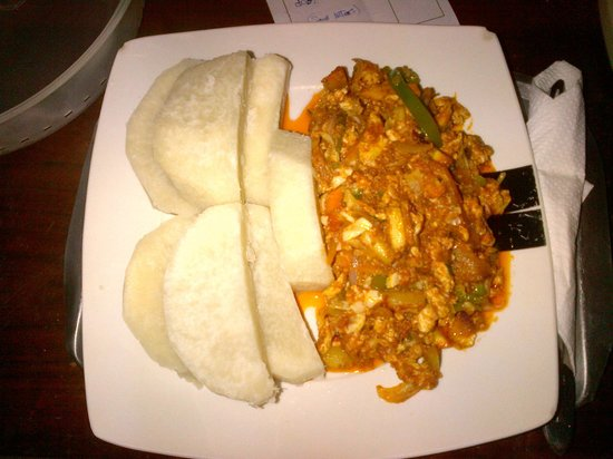 Gye Nyame Hotel: Excellent Ghanian Food