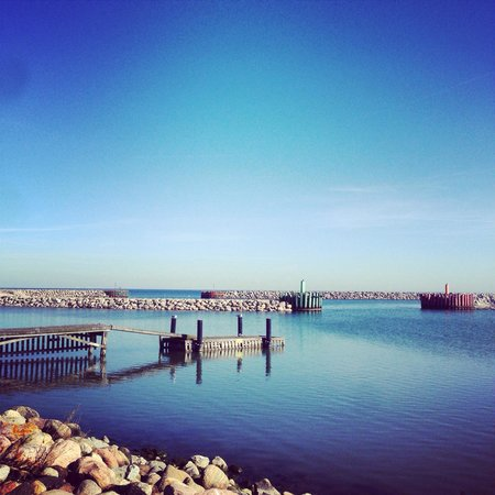 Restaurant Arken: Køge Marina og udsigt fra Arken - @Foto Factory