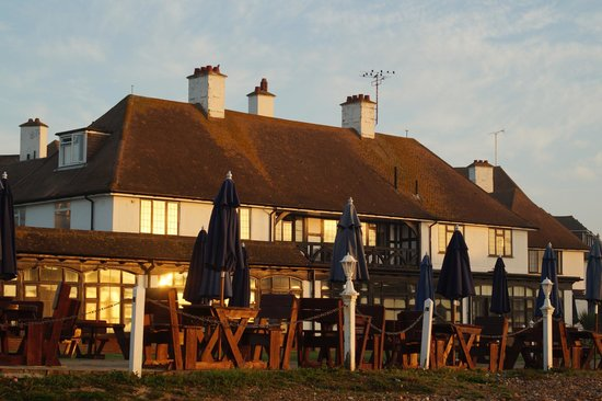The Cooden Beach Hotel : Warm welccome