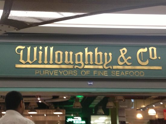 Willoughby & Co : Placa do Restaurante