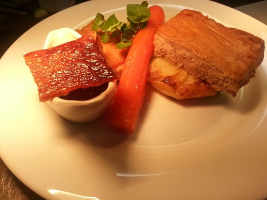 The Hatton Arms: Slow Roasted Pork Belly