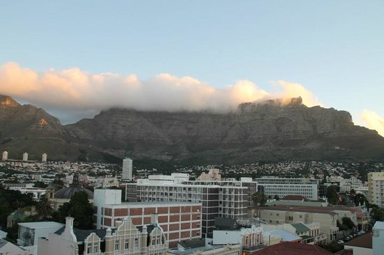 View of CapeTown from Flatrock Suites