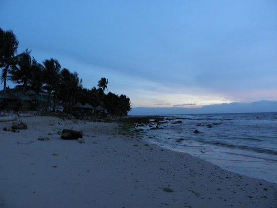 Agua Seda Beach: A section of the beach of the Blue Lagoon