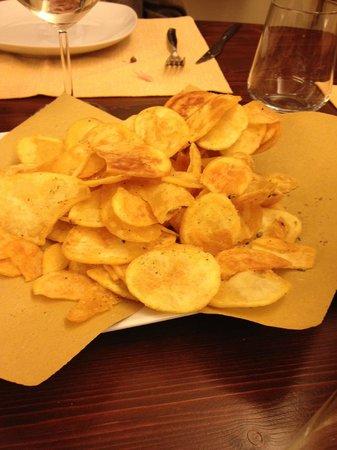 Da Michele: Patatine chips fritte