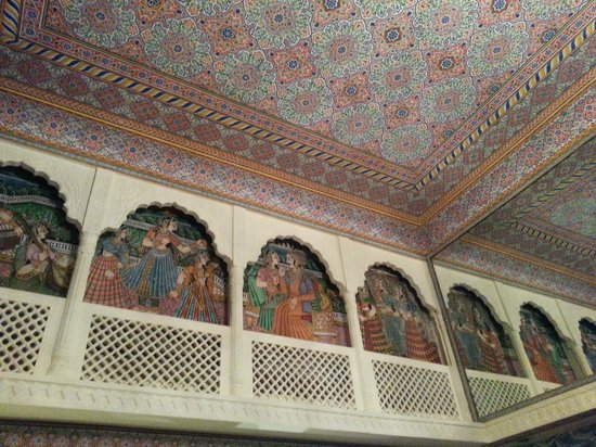 Vesta Maurya Palace: entrance design