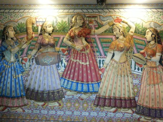 Vesta Maurya Palace: reception wallpaper
