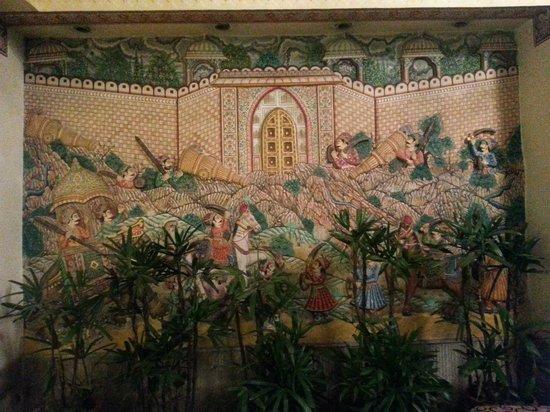 Vesta Maurya Palace: lobby design