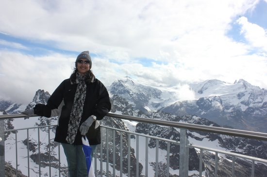 Mount Titlis: cliff walk