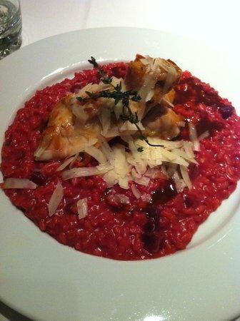 Menza : Pollo con risotto