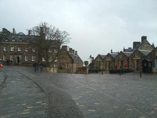 Castillo de Edimburgo: Площадь в крепости