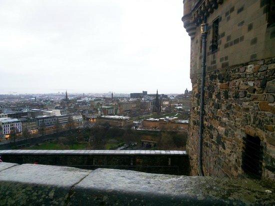 Edinburgh Castle: Панорама города
