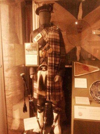 Edinburgh Castle: Военный музей