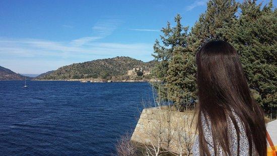 Posada del Agua: Vistas al Embalse de Burguillo
