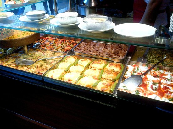 The Pudding Shop : Food selection