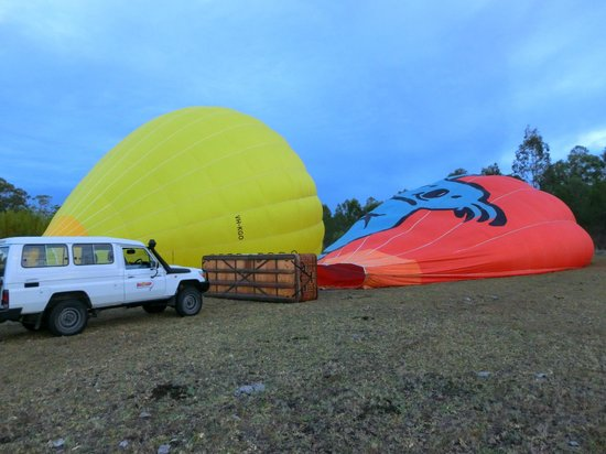 Hot Air Balloon Gold Coast: This is the very beginning..