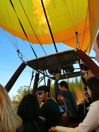 Hot Air Balloon Gold Coast: Heading off~