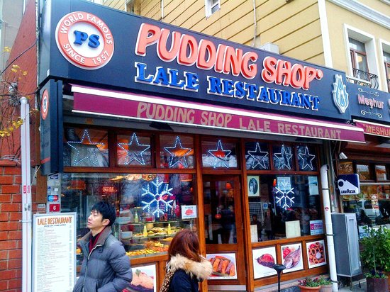 The Pudding Shop : exterior