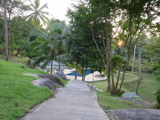 Woodlawn Villas: Path to Pool