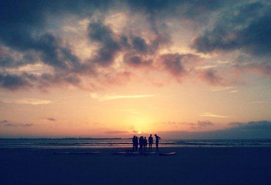 Baleal Surf Camp: sunset in baleal