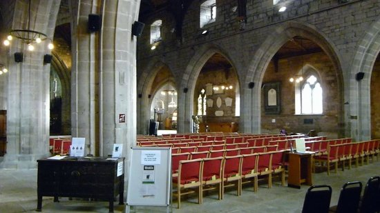 St. Asaph Cathedral: Inside View