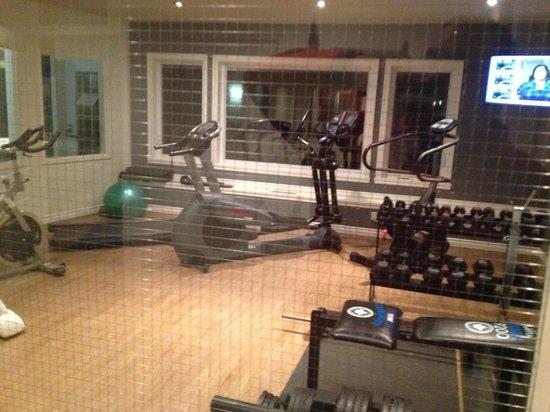 Auberge du Lac Morency: gym