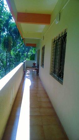 Balcony picture of maitreya beach resort diveagar - Resorts in diveagar with swimming pool ...