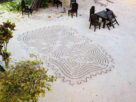 Corona del Mar Hotel & Apartments: Mayan Art