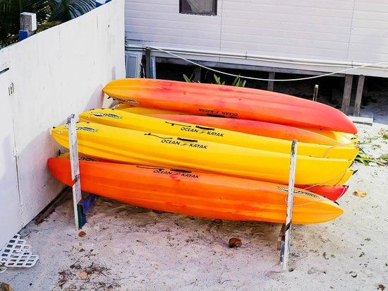 Corona del Mar Hotel & Apartments: Kayaks
