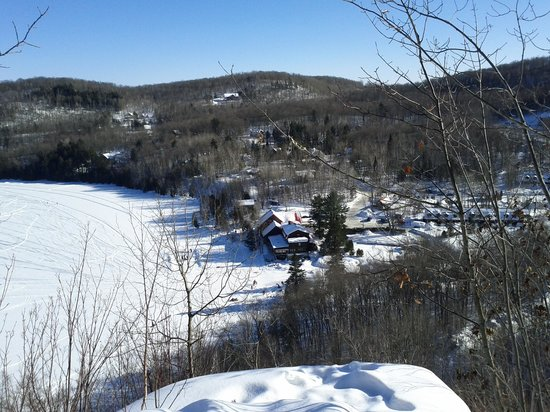 Auberge du Lac Morency: view from the lookout