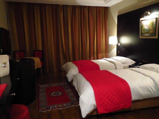 Hotel Rabat: Habitación