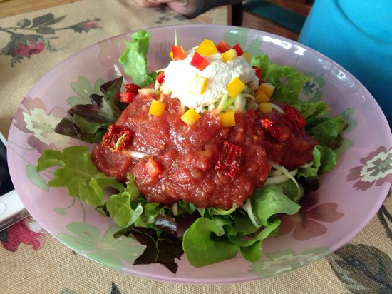 Bonita Cafe and Social Club: Zucchini pasta