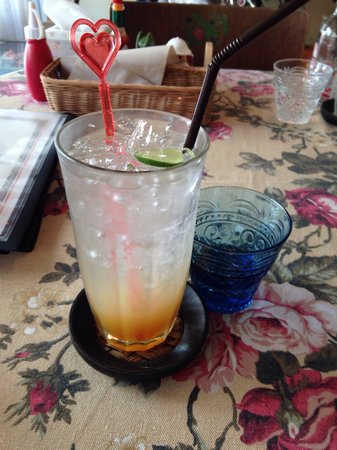 Bonita Cafe and Social Club: Mandarin orange soda