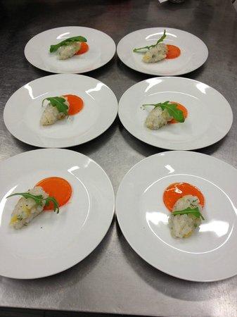 Ristorante Autoespresso : La Nostra Firma: Aperol Fish
