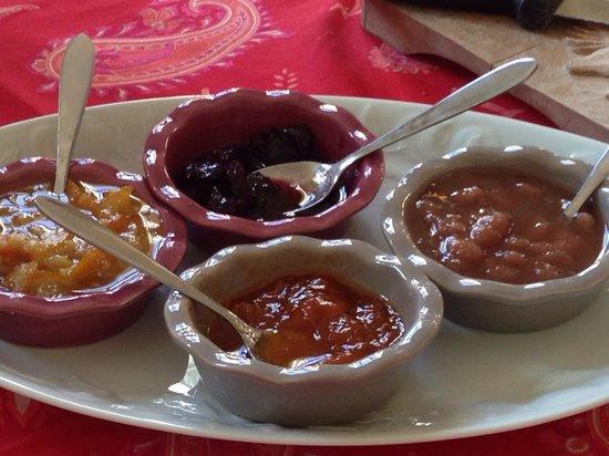 Le Clos d'Argenson : Las mermelada del desayuno