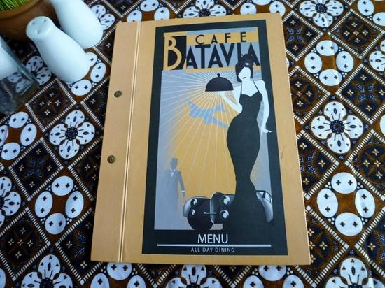 Cafe Batavia: MENU
