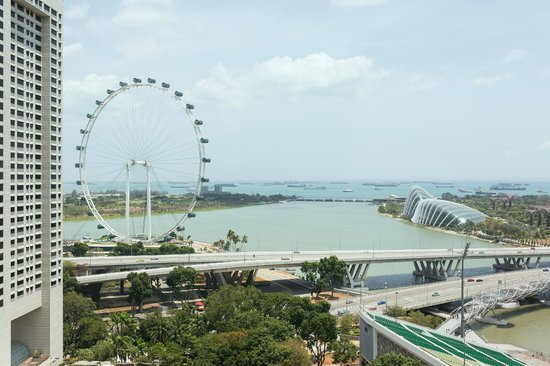 Mandarin Oriental, Singapore: View from 20th floor