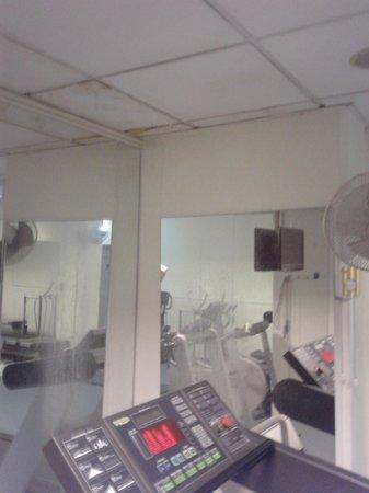 Holiday Inn Nicosia City Centre : Gym agian..
