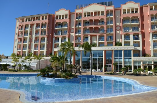 Hotel Bonalba Alicante: Desde el jardin