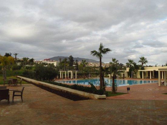 Palais Medina & Spa : Zona de piscina