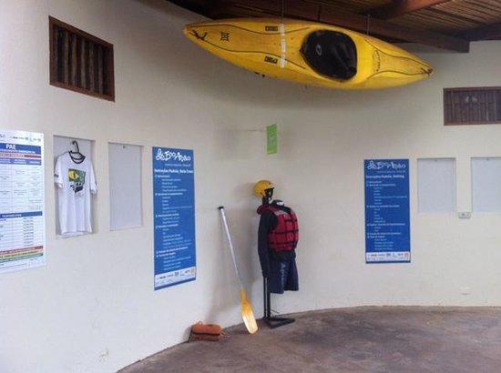 Ecoação Turismo de Aventura: Sala de instruções