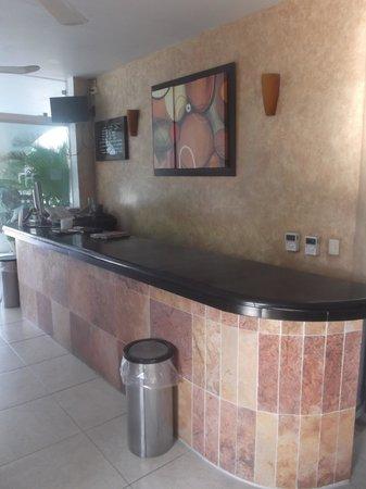 Hotel Alikar: Réception.