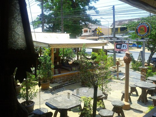 Tiffy's Cafe: front garden