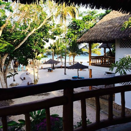 Waterlovers Beach Resort: View from balcony