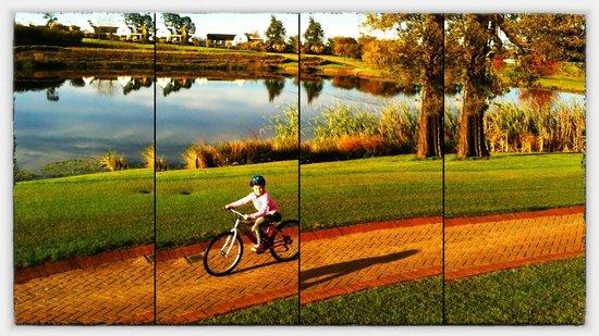 Fancourt Country Club: Bike riding at Fancourt