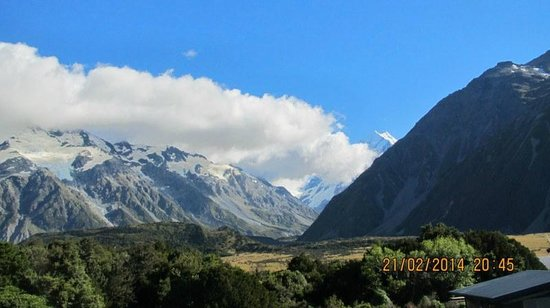 Aoraki Court Aoraki/Mt Cook Village: what a view!